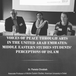 Voices of Peace from Dubai to Odense. Dr. Pamela Chrabieh presents at Nordic Society for Middle Eastern Studies conference