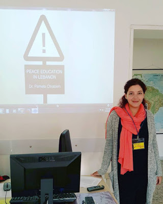 pamela-chrabieh-rome-conference-peace-education