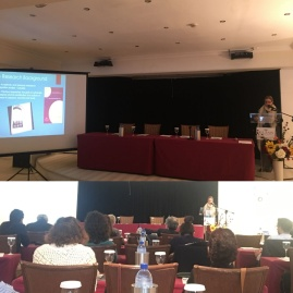 Presenting my paper 'Peace, Art and Migration in Dubai', December 2, 2017, Limasso-Cyprus