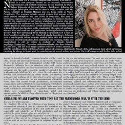 About the Nabad.art Program and Dr. Pamela Chrabieh's Art. Interview published by Stars Illustrated – New York