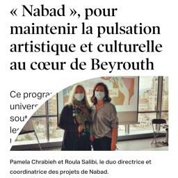 « Nabad », pour maintenir la pulsation artistique et culturelle au cœur de Beyrouth