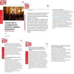 """ARLEB"" MET À L'HONNEUR DES ARTISTES LIBANAIS ÉMERGENTS – AGENDA CULTUREL"